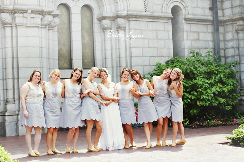 Cotton Bridesmaid Dresses