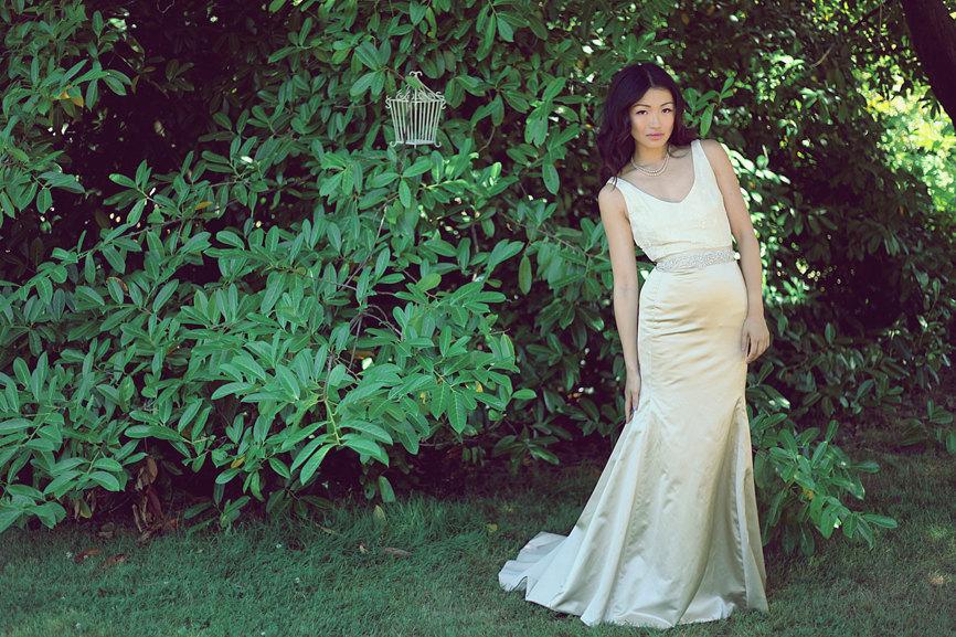 Eco-friendly-two-piece-mermaid-wedding-dress-in-cream.full