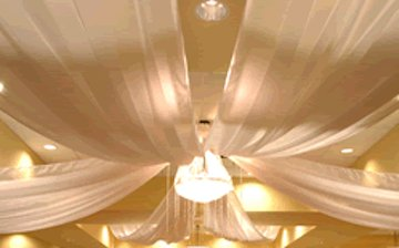 Ceiling Drapery