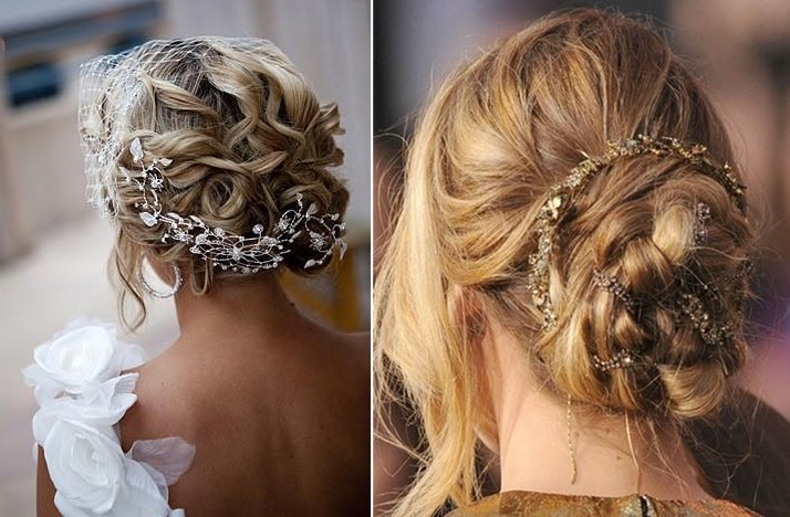 unique wedding updos for 2013 2014 brides 1. Black Bedroom Furniture Sets. Home Design Ideas