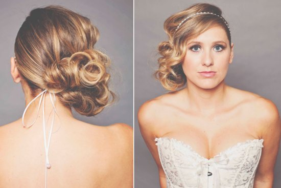 Unique wedding updo for 2013 2014 brides 7