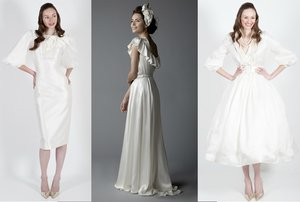 photo of On-trend sleeved wedding dresses for 2011
