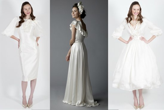 On-trend sleeved wedding dresses for 2011