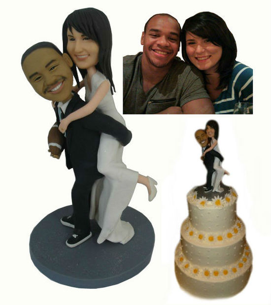 Custom Wedding Cake ToppersFootball