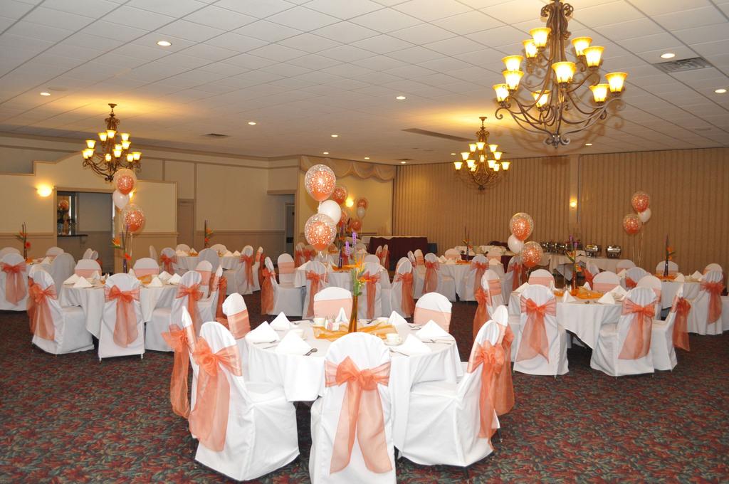 Orange Themed Wedding Reception