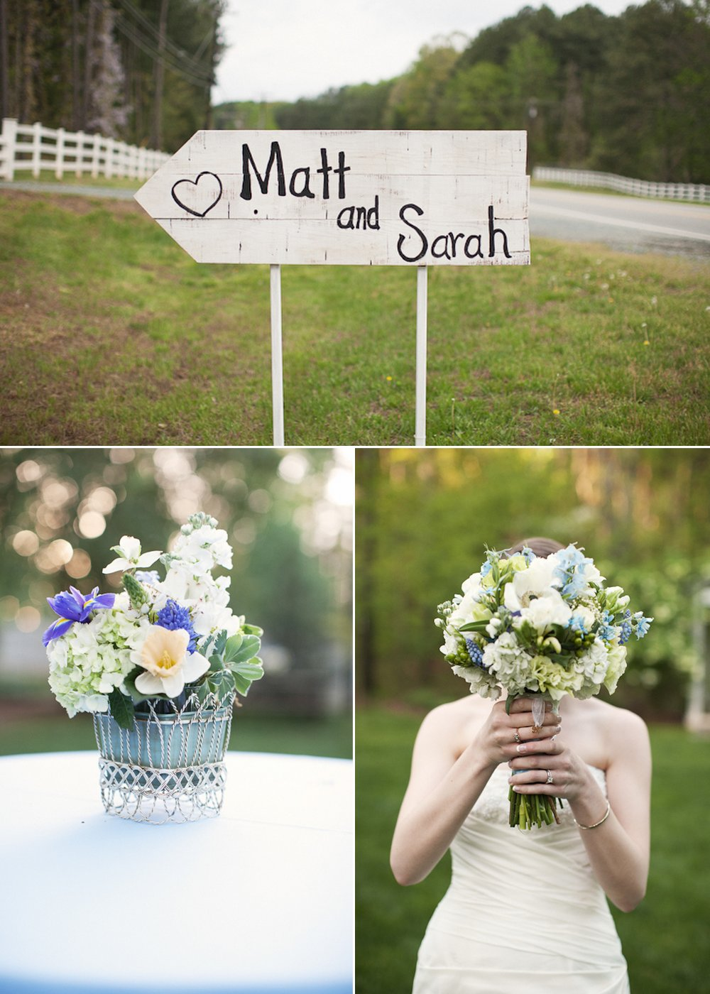 Rustic-real-wedding-romantic-bridal-ouquet-custom-wedding-ceremony-sign.full