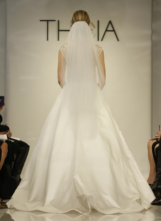 Celeste Wedding dress by Theia Fall 2014 bridal collection