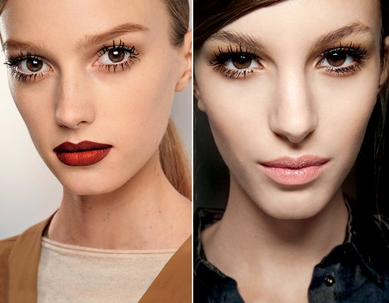 Chunky eye lashes make a dramatic comeback in 2011, perfect for brides-to-be