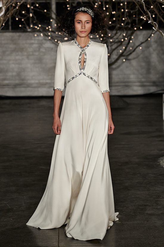 Jenny Packham Spring 2014 wedding dress Old Hollywood Glam