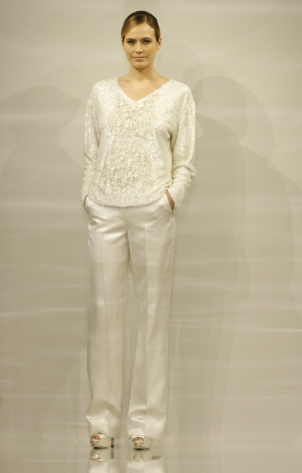 Bridal Collection chic pants suit