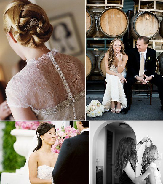 Bridal hair and makeup advice from celebrity wedding hairstylist and makeup expert