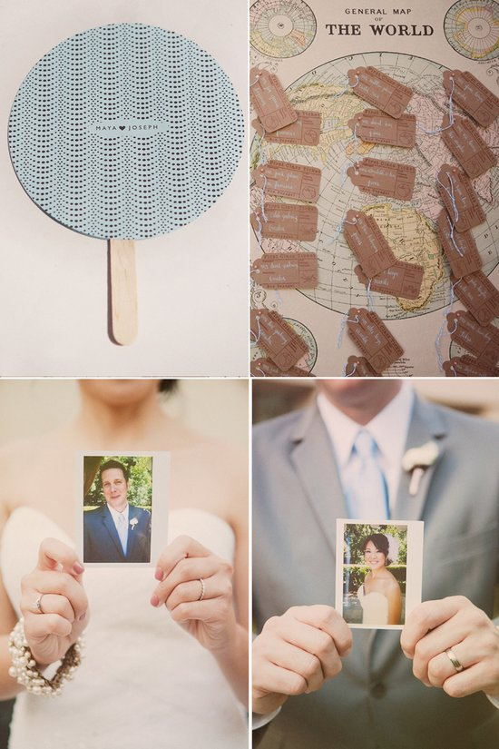 Real California wedding with vintage wedding details