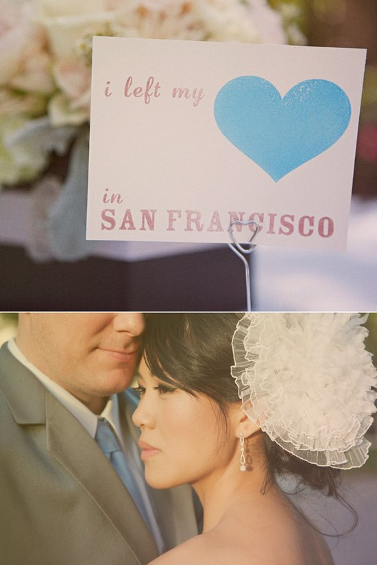 Elegant outdoor wedding in San Francisco