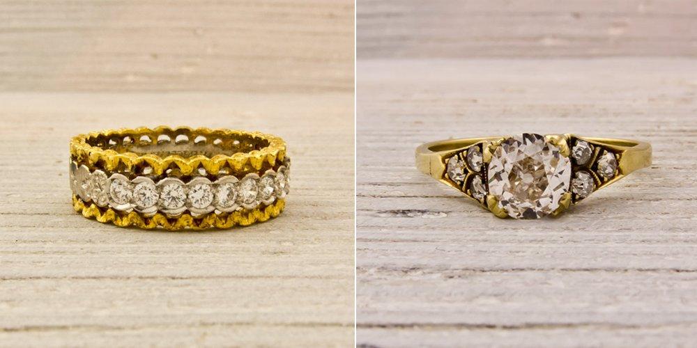 Vintage-engagement-ring-wedding-band-diamonds-gold.full