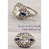 Vintage-wedding-rings-engagement-ring-sapphire-diamonds.square