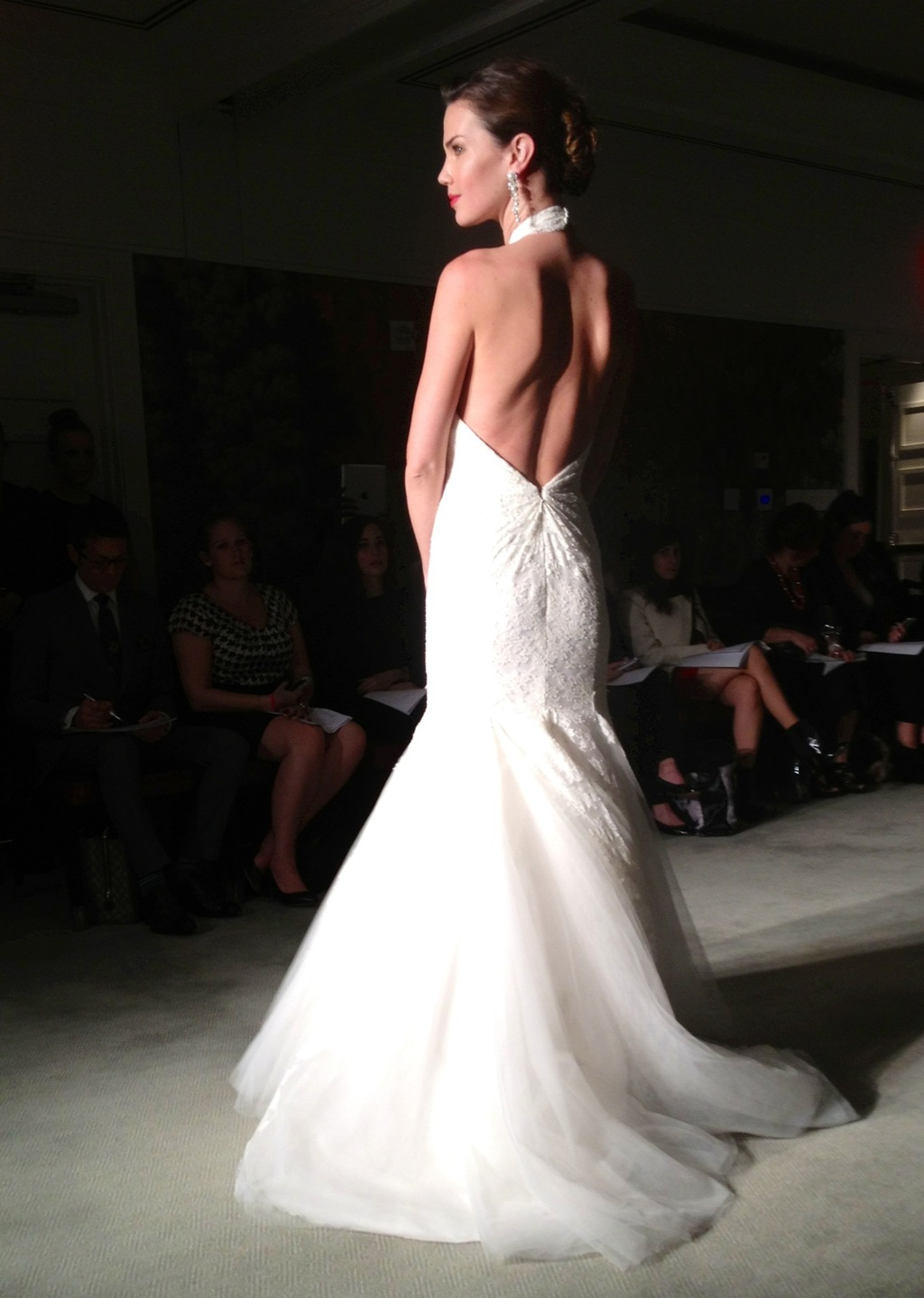Anne Barge open back wedding dress fall 2014 bridal