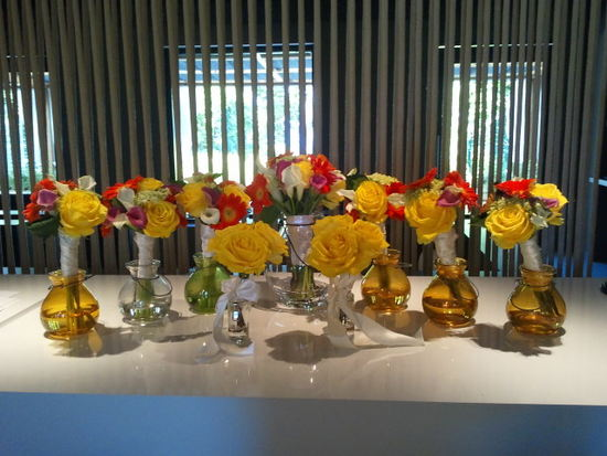 Allison Vann flowers at the W