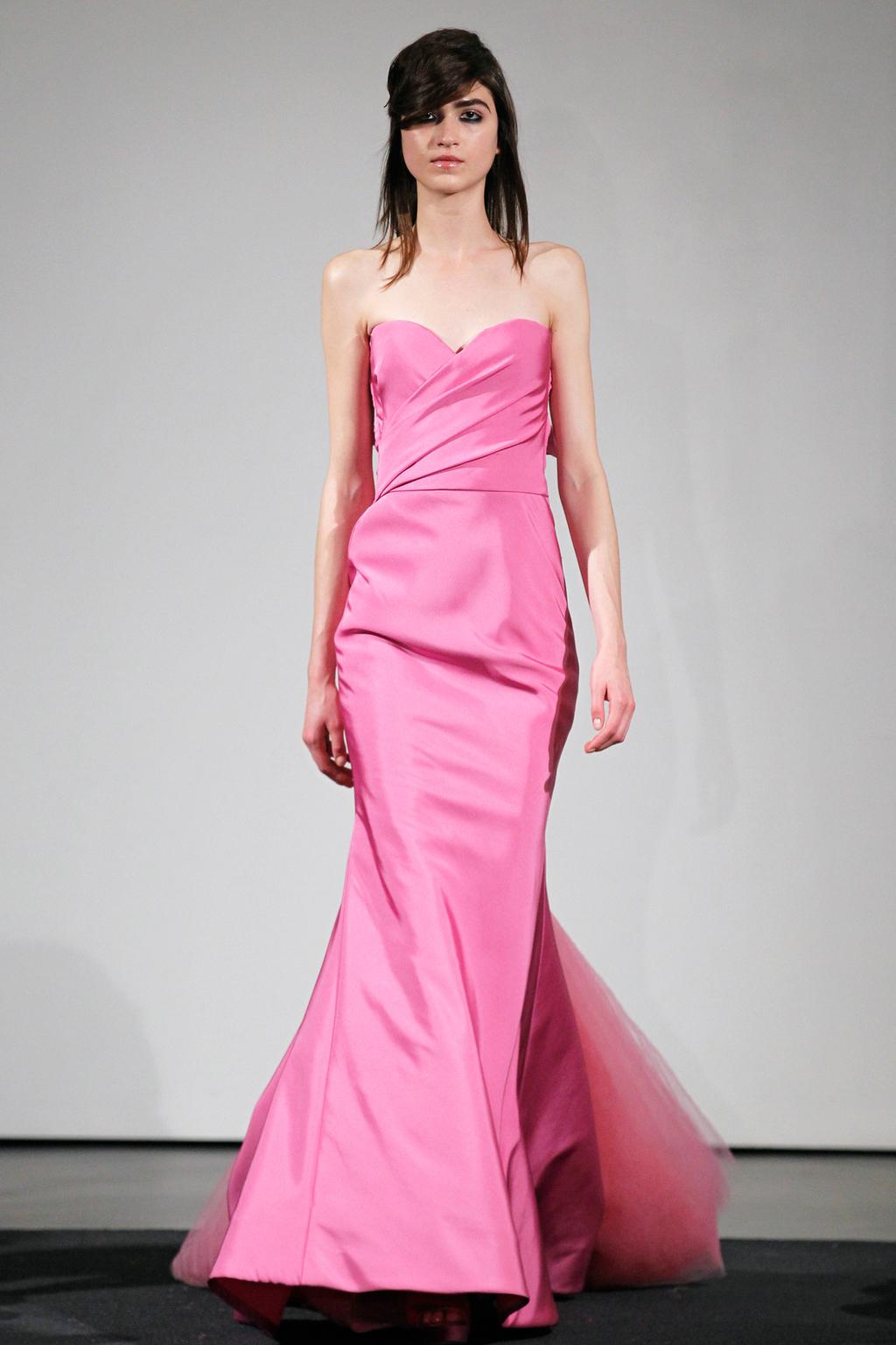 Wedding dress by Vera Wang Fall 2014 bridal collection 13