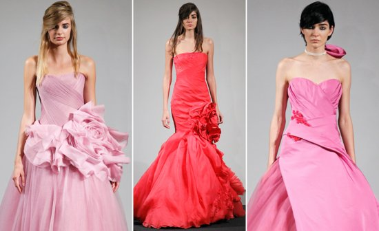 photo of Vera Wang Sees Pink for Fall 2014