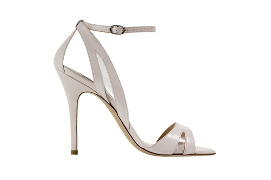 Blush Avril Slingback wedding shoes