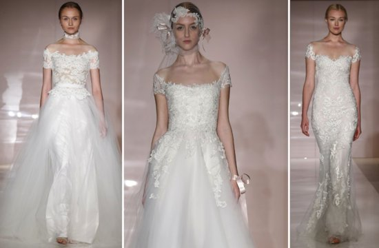 New Wedding Dress Collections 2014 Sneak Peek Reem Acra 2