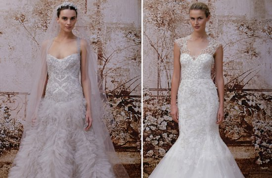 New Wedding Dress Collections 2014 Sneak Peek Monique Lhuillier