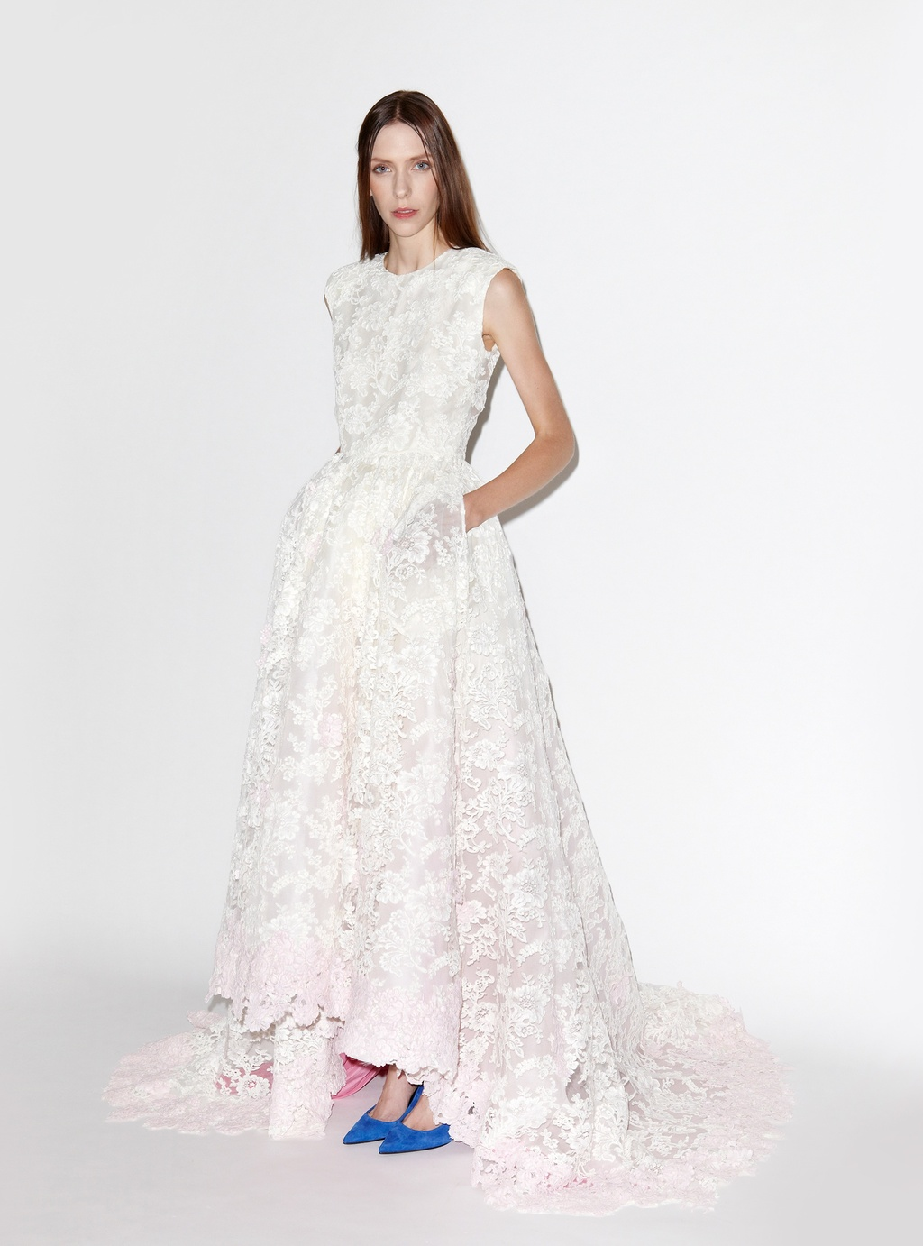 Lace-wedding-dress-with-pale-pink-underlay.full