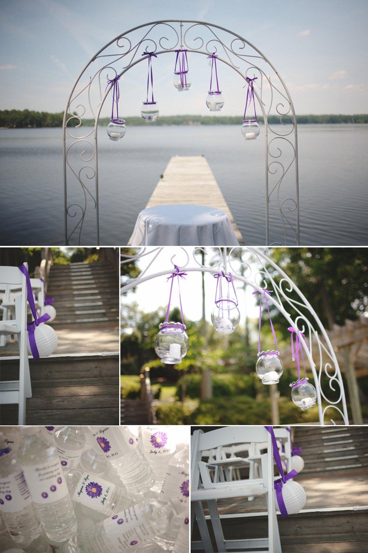 Outdoor-summer-wedding-purple-ceremony-decor-lakeside-wedding-venue.full