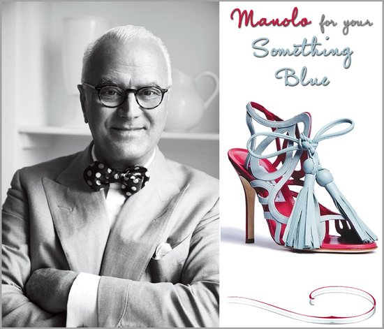 Manolo Blahnik to introduce new pair of strappy powder blue heels