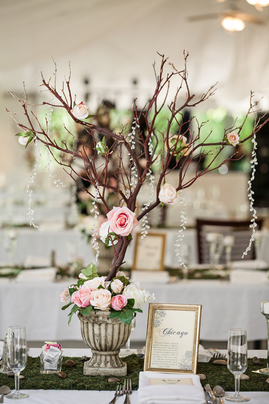Simple Nature Themed Reception