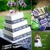 Black-white-damask-outdoor-real-wedding-orchid-wedding-flowers.square