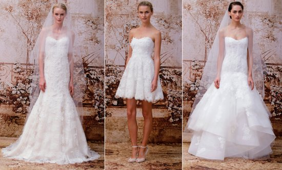 Monique Lhuillier wedding gowns Fall 2014 bridal 2