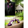 Purple-wedding-shoes-black-grooms-tuxedo-outdoor-real-weddings.square