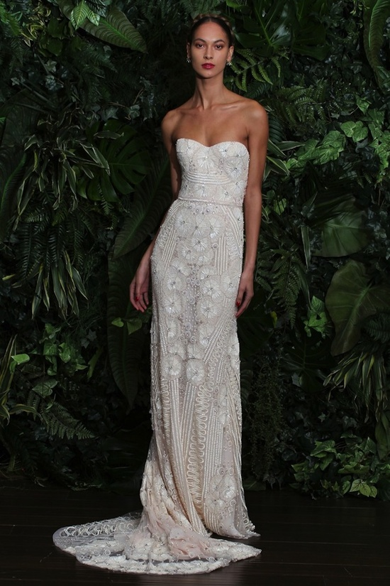 wedding dress by Naeem Khan fall 2014 bridal Miami