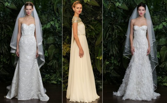 Naeem Khan bridal Fall 2014 wedding dresses