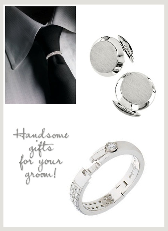 Platinum wedding gifts for grooms and groomsmen