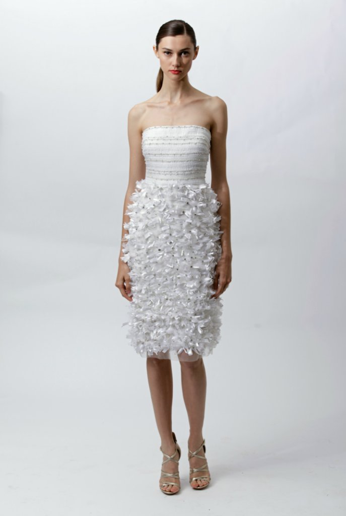 photo of White Hot Wedding Dresses from Resort 2012