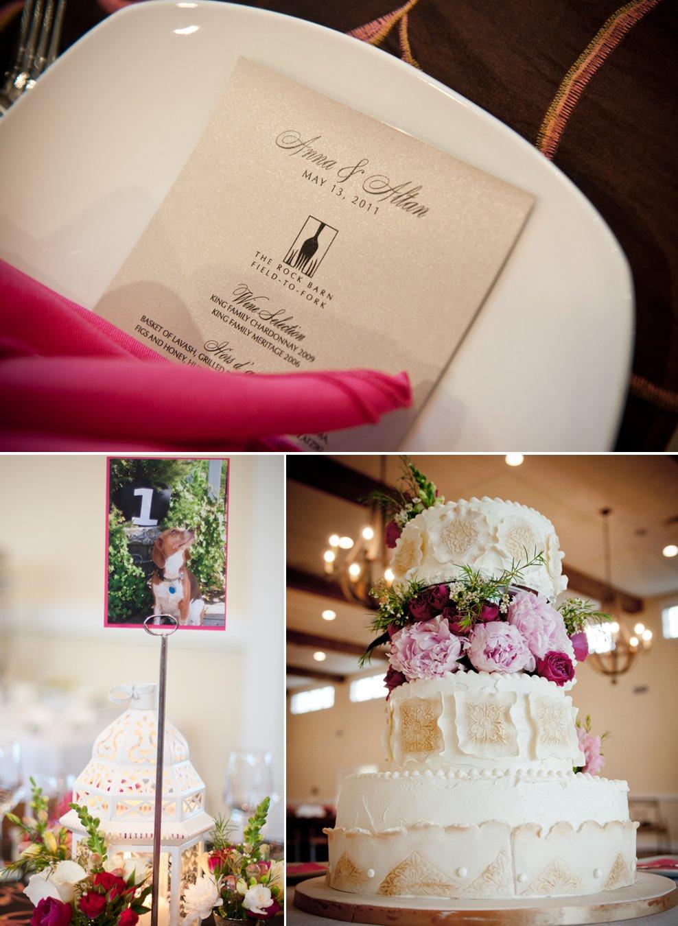 Pink-ivory-real-wedding-elegant-wedding-cake-pink-wedding-flowers.full