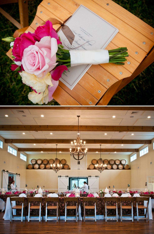 Pink-bridal-bouquet-rustic-chic-wedding-reception-decor.full