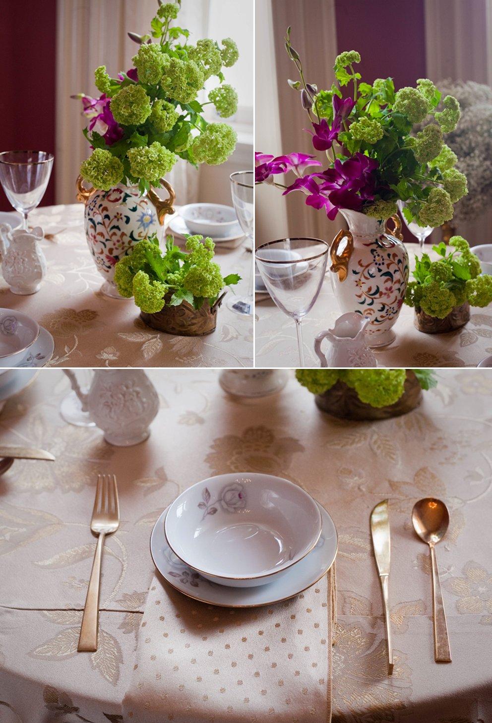 Vintage-wedding-reception-decor-wedding-flower-centerpieces-orchids.full