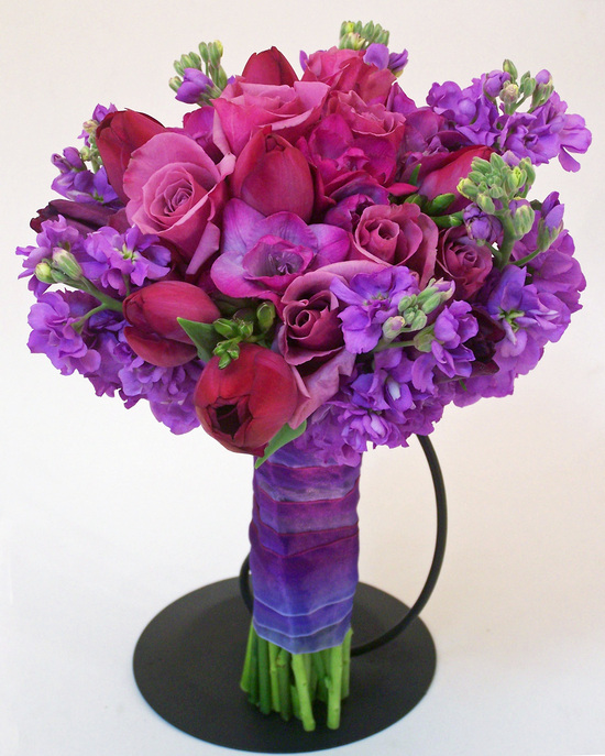 Purple Romantic Bouquet