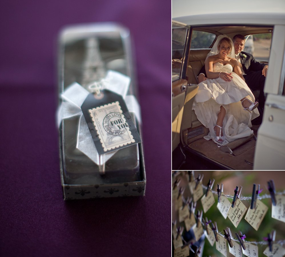 Purple-real-wedding-wedding-guest-favors-escort-cards-limo.full
