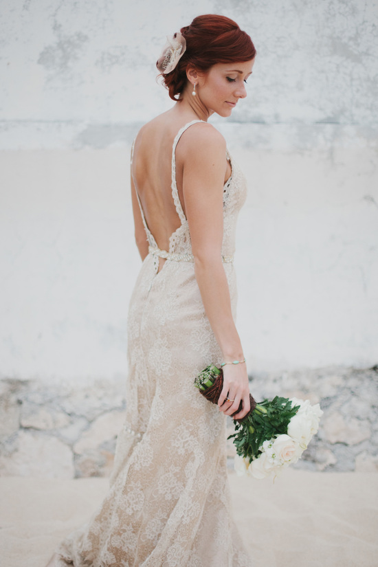 Classic Beach Wedding Dress