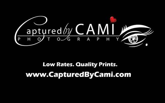 High Quality Captured By Cami Business Card