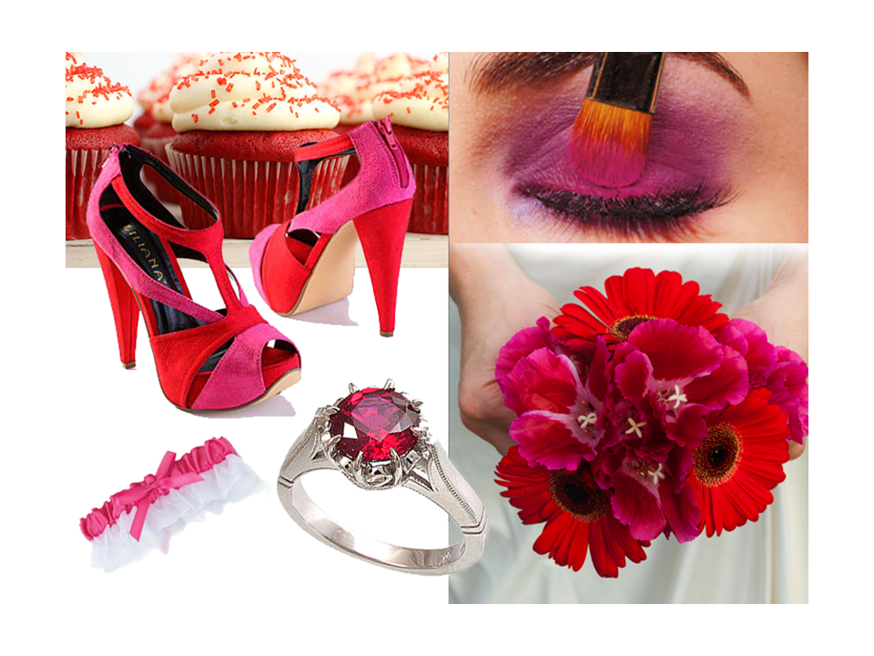 Bright-wedding-colors-red-pink-bridal-shoes-wedding-flowers-bouquet.original