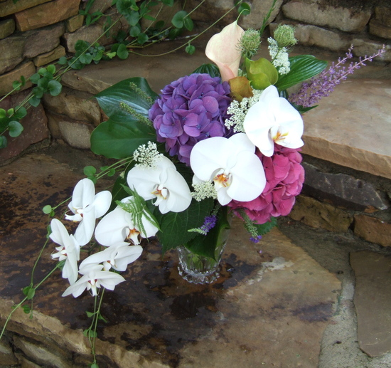 Natural Wedding Flower Decor