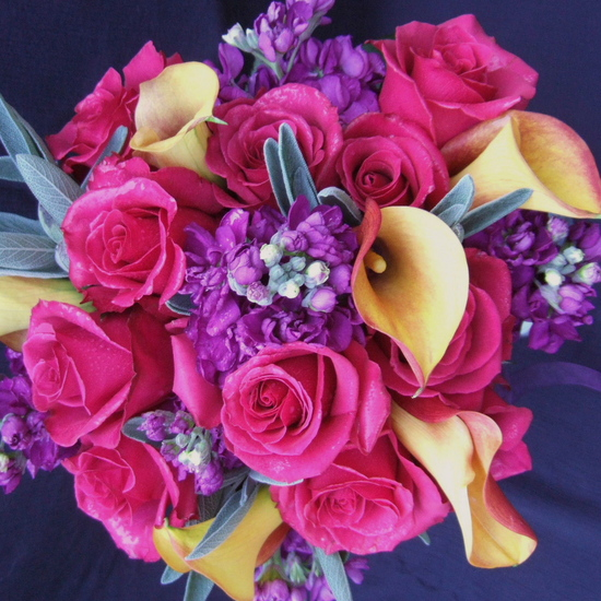 Pink Luxury Rose Wedding Flowers