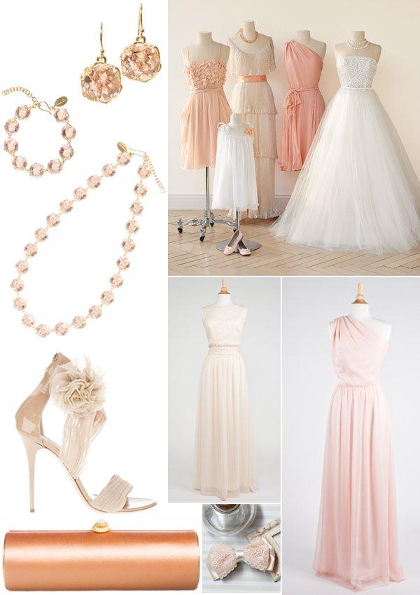 Peaches-cream-wedding-ideas-inspiration-bridal-jewelry-bridesmaids-dresses.full