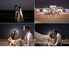 Asian-bride-and-groom-kiss-at-outdoor-wedding-reception.square