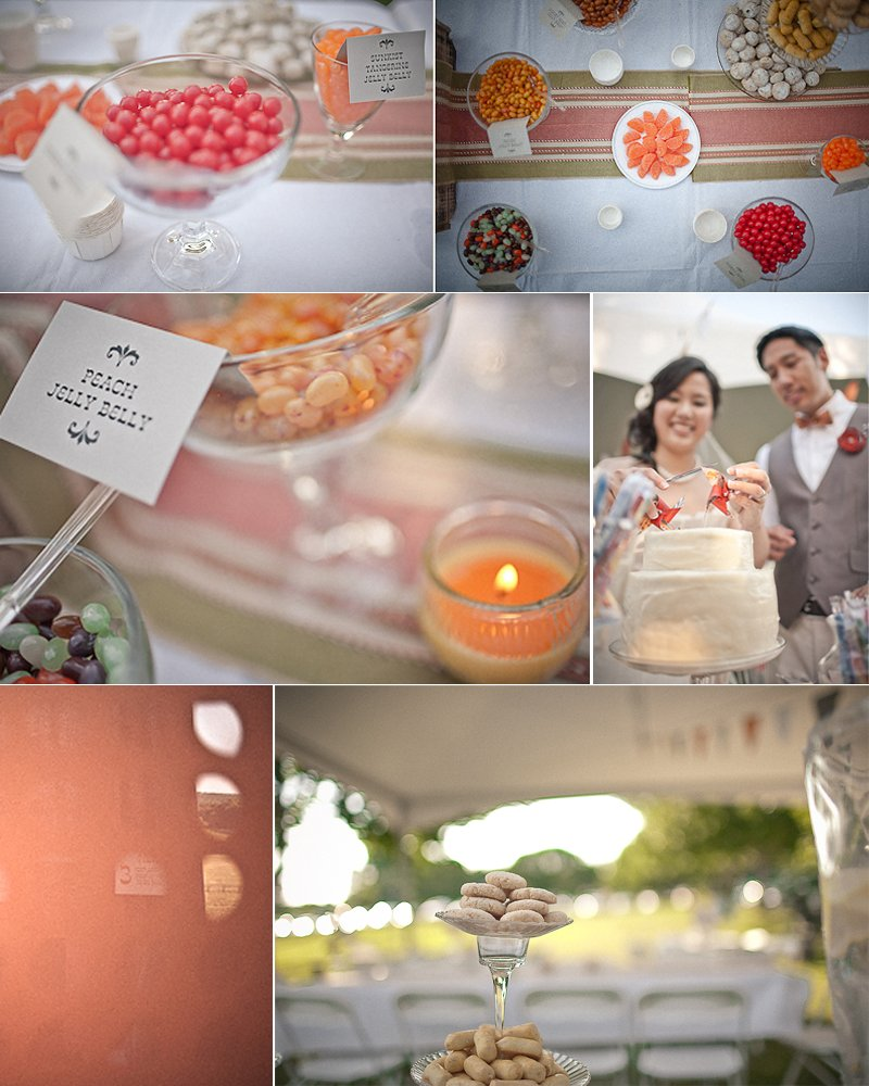 photo of Outdoor Summer Wedding: Asian Influences, DIY Details